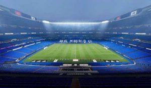 استادیوم Santiago Bernabeu برای PES 2021