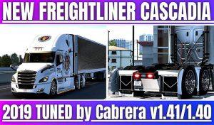 کامیون TUNED FREIGHTLINER CASCADIA برای آمریکن تراک 2
