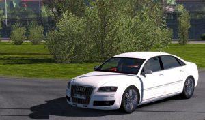 ماشین Audi A8 W12 V3 1.39 v4.0 برای یورو تراک 2