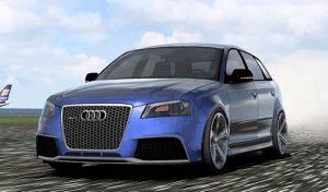 ماشین Audi RS4 Sport 2014 1.53 برای یورو تراک 2