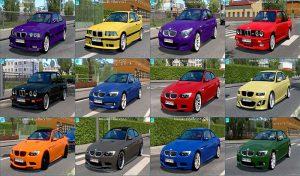 ماشین پک BMW Traffic Pack 1.41 برای یورو تراک 2