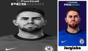 فیس Jorginho برای PES 2021 توسط Shaft