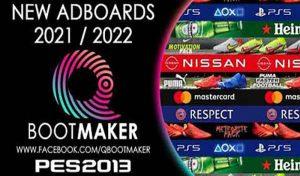 ادبورد پک Adboards Pack 2021/2022 برای PES 2013