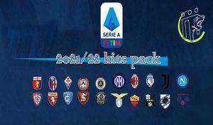 کیت Serie A Kits Season 2021/22 برای PES 2013