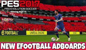 ادبورد EFOOTBALL ADBOARDS برای PES 2017