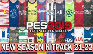 کیتپک 21-22 برای PES 2019 مخصوص پچ Smoke Patch19.3.8
