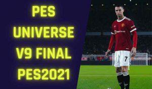 آپشن فایل PESUniverse V9.0 برای PES 2021 – نسخه PS4 / PC