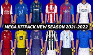 مگا کیت پک Season 2021-22 برای PES 2017