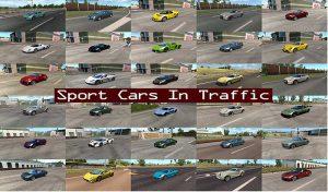 ماشین پک Sport Cars Traffic برای یورو تراک 2