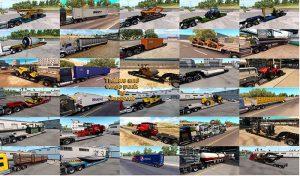پک ترافیک کامیون Trailers and Cargo برای آمریکن تراک 2