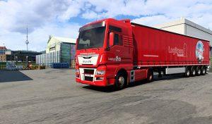 کامیون Combo skin Logitrans Romania 1.0 برای یورو تراک 2