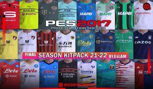 کیت پک Final BIG Season 2021-2022 برای PES 2017