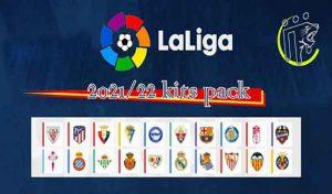 کیت La Liga Kits Season 2021/22 برای PES 2013