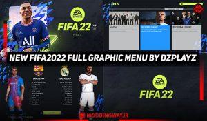ماد گرافیکی FIFA 2022 برای PES 2017 توسط DzPlayZ