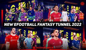 ماد تونل ورودی EFOOTBALL FANTASY 2022 برای PES 2017