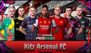 کیت Arsenal FC برای PES 2021 توسط FJR