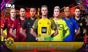 کیت Borrusia Dortmund v2 برای PES 2021