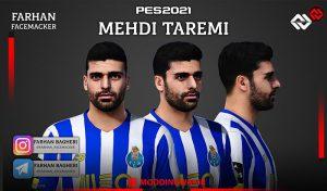 فیس Mehdi Taremi برای PES 2021 توسط FARHAN BAGHERI