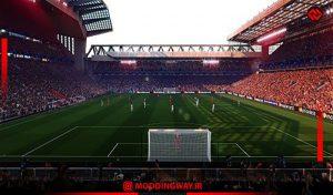 استادیوم Anfield Road X2 برای PES 2021