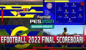 اسکوربرد EFOOTBALL 2022 FINAL برای PES 2021