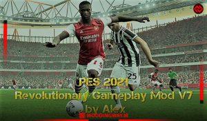 گیم پلی Revolutionary V7 برای PES 2021 توسط Alex