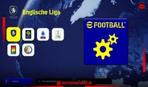 فایل ستینگ رسمی eFootball 2022 ورژن 1.0.0 برای eFootball22